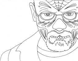 Breaking Bad Coloring Page Coloring Pages