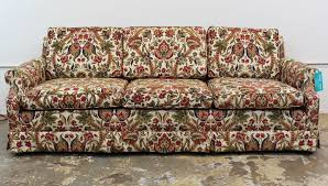 Paisley Sofa vintage paisley 3 seat sofa before & after vintage modern furniture 4680 by xevi.us
