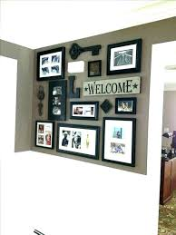 collage picture frames unusual idea wall family frame ideas fra