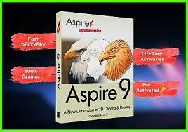 VECTRIC ASPIRE 9.5 + Lifetime License Full Version +bonuss 3d modelsyx - $64.12 | PicClick