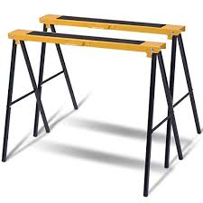 Sawhorse table legs Urban Outfitters Goplus 2pack Sawhorse Pair Heavy Duty Folding Legs Portable Saw Horses Twin Pack Amazoncom Sawhorse Table Legs Amazoncom