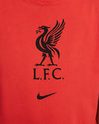 Situated on the eastern side of the mersey estuary, liverpool historically lay within the ancient hundred of west derby in the. Liverpool Fc Fussball T Shirt Fur Altere Kinder Nike De