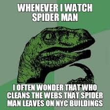 Funny Spider Man Quotes. QuotesGram via Relatably.com