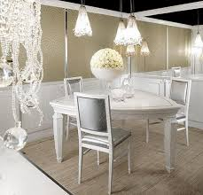 Triangular Kitchen Table Sets Luxurious Dining Room With Three Chairs White Triangle Table Beige