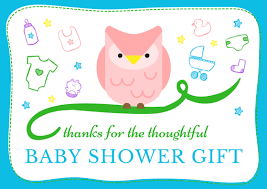 Baby Shower Thank You Note Wording  FREE ResourceOwl Baby Shower Thank You Cards