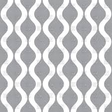White Wavy Lines On Gray Background Seamless Wallpaper Stock Vector Image