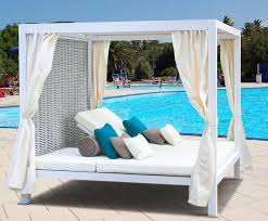Wooden outdoor daybed Indoor Outdoor Outdoor Furniture Daybed Canopy The Web Decorators Wooden Outdoor Furniture Daybed Home Decorators Glamorous