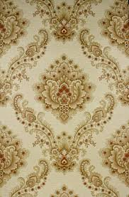 Baroque Design Wallpaper Baroque Wallpaper With Large Pattern