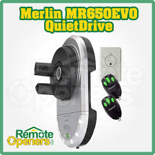 merlin mr650evo chamberlain garage roller door ope
