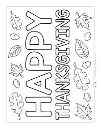 On this day every kid can try to draw some color on black and white happy thanksgiving coloring pages and sheets. Thanksgiving Coloring Pages Itsybitsyfun Com