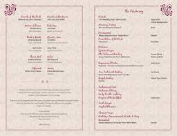 Design For Wedding Programs Magdalene Project Org