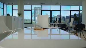 natural light office. 4K Interior View Of Modern Office With Lots Natural Light. No People. Shot Light X