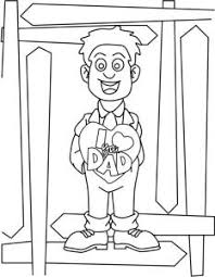 Small Picture I Love You Dad Coloring Page Crafting The Word Of God
