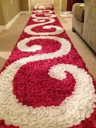 burdy red aisle runner red rose petal swirl aisle runner wedding aisle runner petal aisle runner rose petal runner