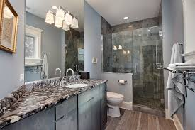 traditional bathroom lighting ideas white free standin. How To Build A Half Wall Shower Bathroom Traditional With Glass Door Flat Front Cabinets Lighting Ideas White Free Standin