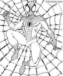Kleurplaat Spiderman 3 11610 Kleurplaten