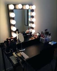 Portable Vanity Mirror With Lights Awesome Portable Makeup Station Icrash