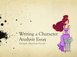 writing a character analysis essay ppt writing a character analysis essay