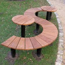 bp14 half round bench s shaped seat