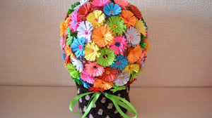 Paper Flower Arrangements How To Make A Fun Paper Flower Bouquet Diy Crafts Tutorial