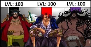 One Piece Anime Size Chart One Piece Power Ranking Chart