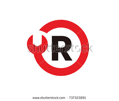 Creative Cover Letter Unique Letter R Logo Template Design Vector Stock Vector 48