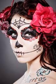 sugar skull catrina inspired makeup ideas
