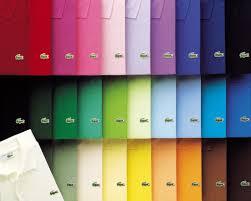 Lacoste Polo Shirt Color Chart Lacoste Polo Colori Polo Shirt Outfits Lacoste Polo