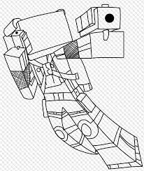 Minecraft Coloring Pages Spider At Getdrawingscom Free For