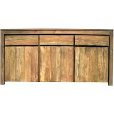 chic teak furniture. Recycled Teak Solo Buffet 3 Doors Drawers - Chic Furniture