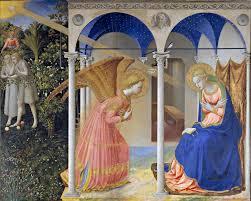 La Anunciación (Fra Angélico, Madrid) - Wikipedia, la enciclopedia libre