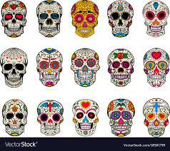 Day Of The Dead Skull Designs 15 Day Of The Dead Sugar Skull Designs