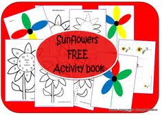 the free kids sunflowers activities book from inspire imagination through creation for lots of sunflower
