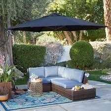 turn tilt patio umbrella crank and tilt offset umbrella patio umbrellas at hayneedle