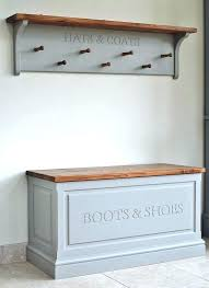 Hall Coat Racks Stunning Storage Ideas For Shoes And Coats Hall Coat Rack Storage For Coats