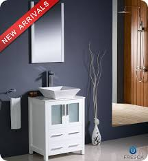 small white bathroom vanity with sink. 24\ small white bathroom vanity with sink .