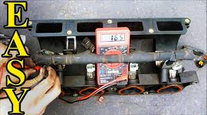 how to check fuel injector resistance with a multimeter youtube how to check trailer wiring harness with multimeter at How To Check Wiring Harness With Multimeter