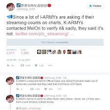 Update Most Korean Music Sites Except Melon Do Not Count