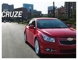 GM 2013 Chevrolet Cruze Sales Brochure