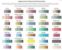 Dmc Thread Colour Chart Pdf 63 Paradigmatic Needlepoint Yarn Color Chart