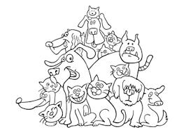64 Gratis Kleurplaten Van Honden Kleurplaat Hond En Kat