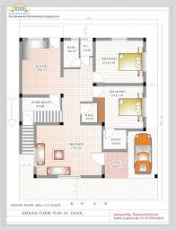 duplex house plan and elevation 2349 sq ft home for indian home plans and designs free