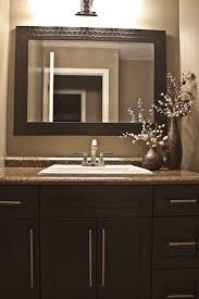 Brown Painted Bathrooms 17 Best Ideas About Brown Bathroom Mirrors On Pinterest Brown