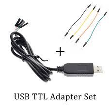 4pin PL2303 PL2303HX <b>USB to UART TTL</b> Cable Module 4 pin ...