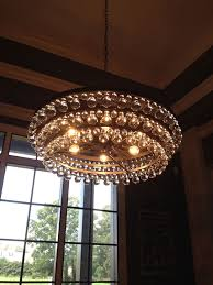 image of robert abbey bling chandelier assembly