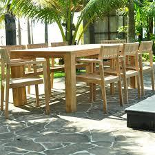 cornwal teak outdoor farm table rectangular