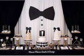 Black And White Party Bow Tie Party Fatherss Day Guys Parties