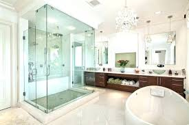 Bathroom chandelier lighting ideas Lowes Powder Helloblondieco Powder Room Lighting Unique Gorgeous Bathroom Light Fixtures Ideas