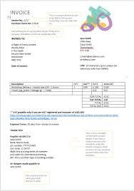 Uk Invoice Sample Invoice Template The Arts Development Company