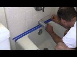 how to replace moldy caulk in a bathtub or shower